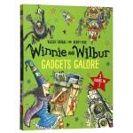 女巫温妮与黑猫威尔伯三合一故事集 英文原版童书 Winnie and Wilbur 儿童英语魔法故事绘本章节书 英文版