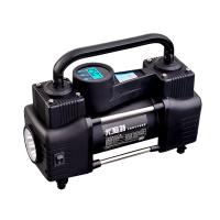 便携式车载充气泵大功率双缸轮胎打气泵汽车用12V