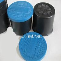 蚯蚓盒 保鲜盒 塑料 鱼饵盒 饵料盒加厚透气蚯蚓保鲜盒100个 深蓝色