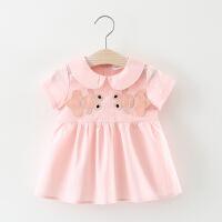 2018新款女宝宝夏装0-1-2半岁女童公裙婴儿裙子夏季儿童连衣裙 双鱼裙