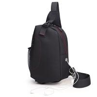 男士胸包帆布简约韩版户外运动包休闲单肩斜挎包透气个性多功能包
