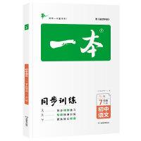 包邮2020春一本同步训练七7年级下册初中初中语文人教版一本同步训练7年级下册初中语文