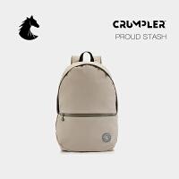 CRUMPLER澳洲小野人双肩包简约休闲书包电脑背包百搭商务旅行包