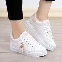 大童儿童鞋子板鞋女童女孩子小学生棉鞋运动休闲鞋12-13-15岁韩版
