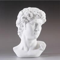 大卫石膏艺术雕像工艺品摆件家具装饰品玄关办公室摆设