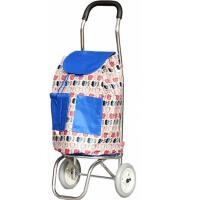 便携买菜车 轻便折叠购物车 两轮铝合金拉杆包 小号推车行李车