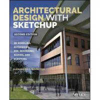 【预订】Architectural Design with Sketchup 9781118978818