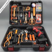 工具箱套装多功能五金工具电工维修汽车组套电钻组合工具