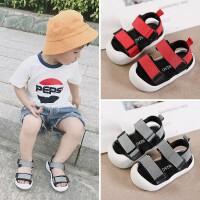 宝宝凉鞋男1-3岁儿童夏季婴儿鞋不掉软底0-2女童小童鞋子一学步鞋