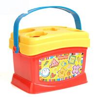 启蒙塑料积木盒 形状配对儿童玩具 婴幼儿玩具K7167 k7167