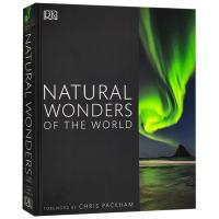 世界自然奇观 英文原版 Natural Wonders of the World DK摄影自然百科 景观 3D地形模型
