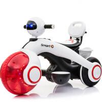 儿童电动车摩托车三轮太空车可坐人宝宝童车电瓶车玩具车圣诞礼物