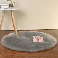 圆形地毯电脑椅子地毯梳妆台仿羊毛地垫吊篮地毯卧室地毯长毛绒 200 圆形