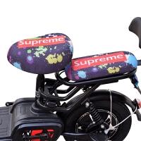 四季通用电动自行车坐垫套 电动车座套 电瓶车防晒透气座垫套坐套