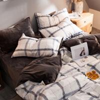 床单被套冬季床上用品三件套