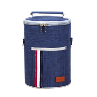 保温桶袋子饭盒手提袋圆形圆桶饭盒袋提饭盒的手提包饭盒袋子手提