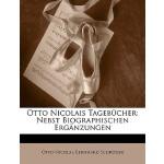 【预订】Otto Nicolais Tagebucher: Nebst Biographischen Erganzun