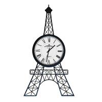 挂钟客厅创意时尚艺术静音欧式北欧挂表卧室简约巴黎铁塔现代个性 黑色 20英寸