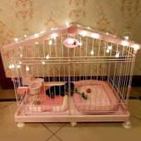 【支持礼品卡】房屋型猫笼中小型犬狗笼子狗房子狗笼泰迪带厕所 hr7
