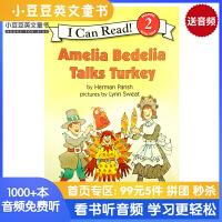 英文原版 Amelia Bedelia Talks Turkey [4-8岁]#