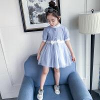 女童夏装连衣裙新款韩版儿童装裙子女大童夏季时尚洋气公主裙