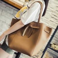 女包2018韩版新款大包复古文艺范单肩包日系大容量子母包手提包夏