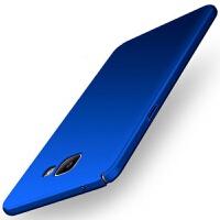 优品三星sm-a7108手机壳A7100保护套A72016版外壳男女款全包防摔潮SMA 全包丝滑硬壳 蓝色+送指环+全