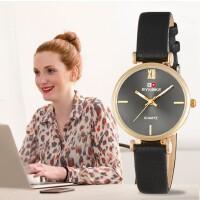 时诺刻 电子手表 时装皮带女士手表 春季 石英手表 时尚百搭配饰手表
