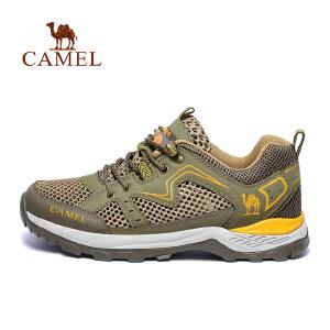【质量问题】camel骆驼户外徒步鞋 系带透气清爽减震男女款登山休闲鞋