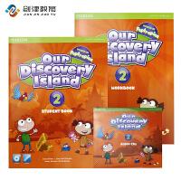 包邮培生原版进口 欧美小学主流英语教材 ODI Our discovery island 第2级别学生用书 包含学生书+