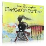 【顺丰速运】英文原版绘本 Hey!Get Off Our Train请让我留在火车上吧 John Burningham