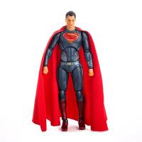 电影版超人关节可动模型手办16cm桌面摆饰礼物送男生17cm