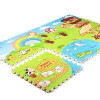 扣垫环保拼图婴儿爬行垫加厚2cm宝宝游戏垫单片价 一套6片装 开心农场 开心农场 一片价