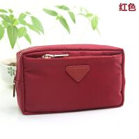 防水尼龙化妆包收纳包手机钥匙零钱包手拿小包可爱韩国