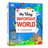 这是我们的地球 My Very Important World 英文原版地球科普认知图画书 儿童科普绘本 全彩大开精装
