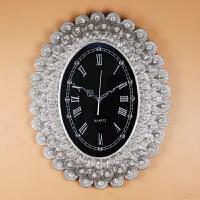 欧式挂钟客厅钟表复古孔雀大号挂表客厅家用时钟时尚创意壁钟卧室