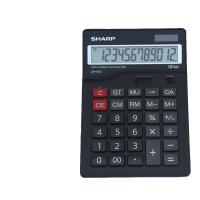 计算器 夏普 CH-412计算器 12位大按键大显示 中号办公财务计算器