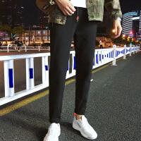 男士大贴袋运动裤男士宽松长裤小脚卫裤休闲裤男大码跑步裤子潮K8007