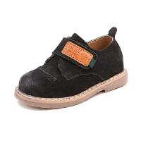 春秋季儿童童鞋男宝宝鞋休闲小皮鞋1-3岁婴儿软底学步鞋女童单鞋