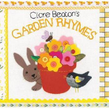 【预订】Clare Beaton's Garden Rhymes 美国库房发货,通常付款后3-5周到货!