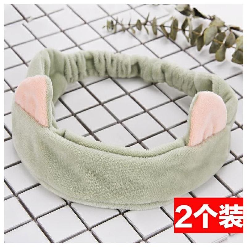 洗脸防水洗脸发卡韩国可爱个性发箍防滑压发大号防湿衣发带