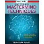 【预订】Brain Training on MasterMind Techniques: Step by Step G