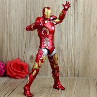 ?复仇者联盟2奥创纪元MK42 反浩克 7寸钢铁侠托尼关节可动人偶玩具 活动当天发货