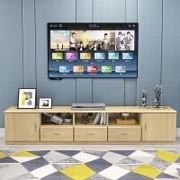 定制实木家具简约多功能组合矮柜落地客厅小户型实木柜松木电视柜 组装