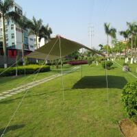 天幕帐篷户外超大防雨便捷遮阳布超轻防水牛津布钓鱼6*4.45米野营