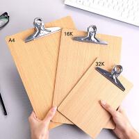 加厚木�|板�A A4文件�A�|板��A板�k公文具用品 ��字板�A菜��A子