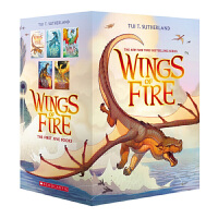 Wings of Fire火焰之翼5本套装英文原版Books 1-5 Wings of Fire Tui T.Suth
