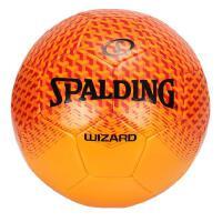 斯伯丁 SPALDING 64-924Y 比赛系列足球 5号标准球 机缝耐磨 红/橙色 TPU材质