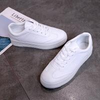 小白鞋女2019春季新款学生运动鞋板鞋韩版防水休闲鞋跑步白鞋