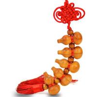 桃木剑挂件开运家居饰品挂饰开运木雕刻桃木葫芦摆件